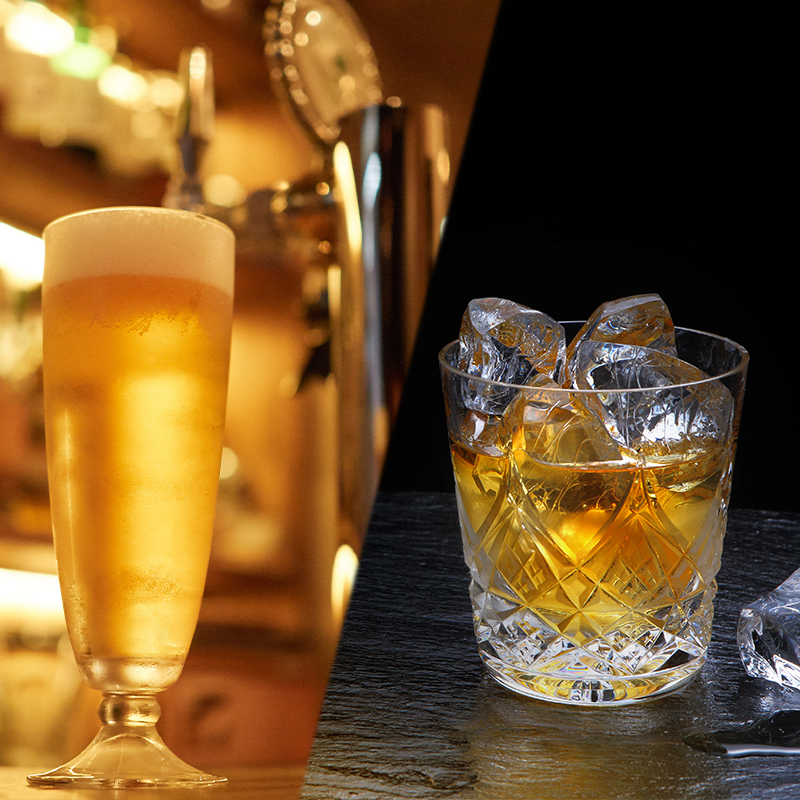 Beer / Highball / Whisky