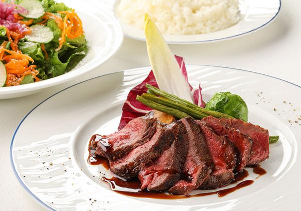 ビーフランチセット<br>- Speciality Beef Lunch -